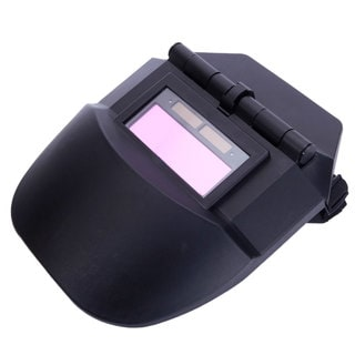 WS-100 Solar Powered Auto Darkening Arc Tig Mig Welding Helmet Black