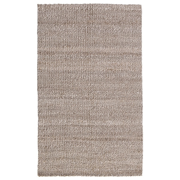 Kosas Home Handspun Gallinger Silver and Bleached Jute Rug - 2' x 3'