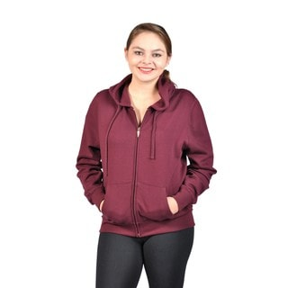 C'est Toi Junior Plus Size Hooded Fleece-Lined Sweatshirt