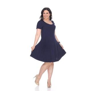 White Mark Plus Size Cara Dress