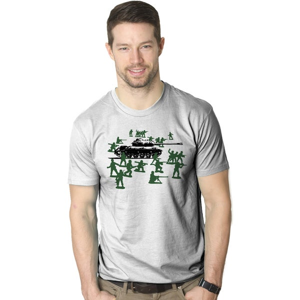 Little Green Army Men T Shirt Funny Graphic Shirts