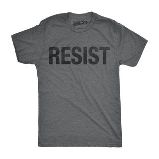 Mens Resist Tee United States of America Protest Rebel Political T shirt