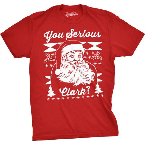 Mens Started at the Chimney Now Im Here Funny Santa Christmas T shirt
