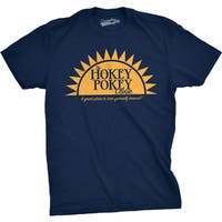 Mens Hokey Pokey Clinic Funny Great Place To Turn Yourself Around T shirt