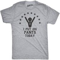 Mens I Put Pants On Today Funny Achievement Winning T shirt