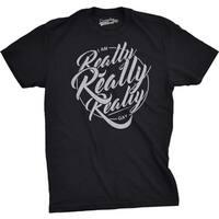Mens I Am Really Really Really Gay Funny LGBT Pride T shirt (Black)