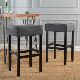 Portman Fabric Backless Barstool (Set of 2) by Christopher Knight Home