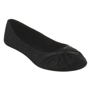 Refresh Women's ID95 Bow Slip-on Ballet Flats