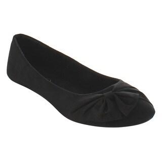 Refresh Women's ID95 Bow Slip-on Ballet Flats