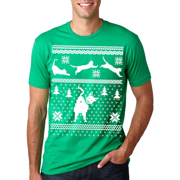 f6f648b1 Shop Cat BUTT Ugly Christmas Sweater T Shirt Funny - Free Shipping On  Orders Over $45 - Overstock - 16183197