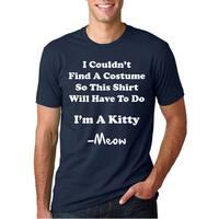 I'm A Kitty Meow Halloween Costume T Shirt Funny Cat Shirt