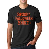 Spooky Halloween Costume T Shirt Funny Trick Or Treat Tee