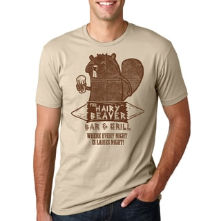 The Hairy Beaver Bar T Shirt Funny Drinking Shirt Beavers Tee