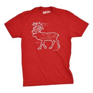 Reindeer Parts T Shirt Funny Christmas Shirt Xmas Tee