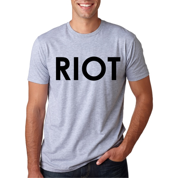 Riot T-Shirt Funny Vintage Style T Shirt Classic Comedy TV Tee