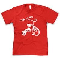 Ride or Die Tricycle T-Shirt Funny Vintage Trike Shirt