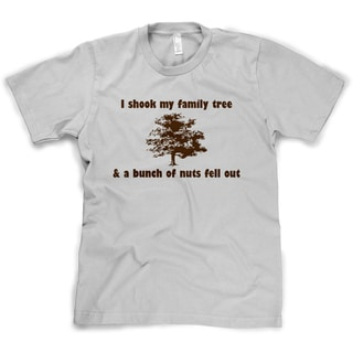I Shook My Family Tree And Found A Bunch Of Nuts T Shirt Funny Reunion Tee