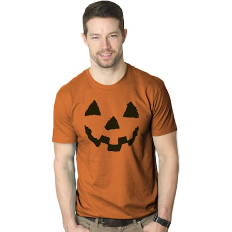 Pumpkin Face T-Shirt Funny Halloween Jack O Lantern Shirt