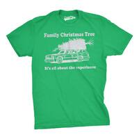 Family Christmas Tree T Shirt Funny Vacation Movie Tee