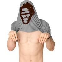 Ask Me About My Bigfoot T Shirt Funny Sasquatch Flipup Tee
