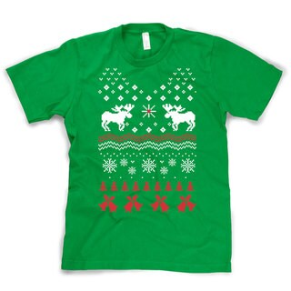 Reindeer Bells T Shirt ugly Christmas sweater shirt reindeer ugly sweaters t