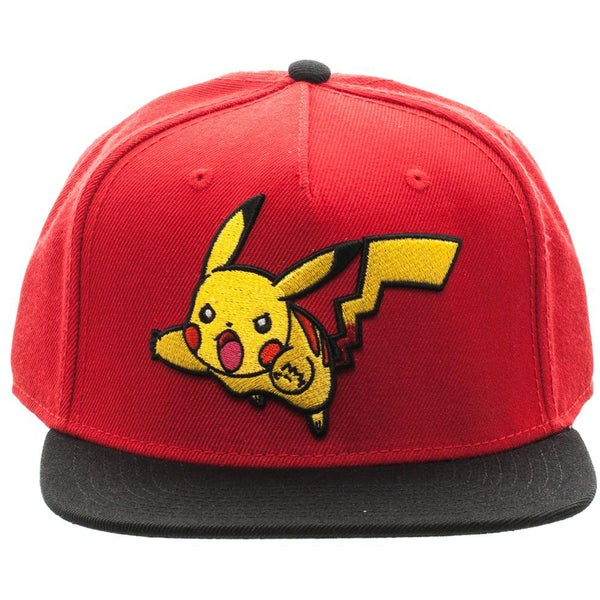 bbc6a1c82b0 Shop Bioworld Pokemon Pikachu Color Block Snapback Hat - Free Shipping On  Orders Over  45 - Overstock.com - 16184343