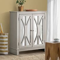 Furniture of America Daile Contemporary 2-shelf Grey Hallway Cabinet