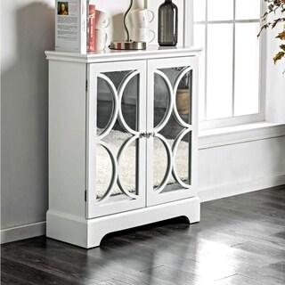 Furniture of America Tenecha Contemporary 3-shelf Grey Hallway Cabinet