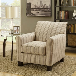 Shop Furniture Of America Haverson Casual Stripe Print