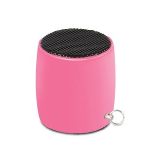 Insten Pink Micro Bluetooth Speaker with Keychain