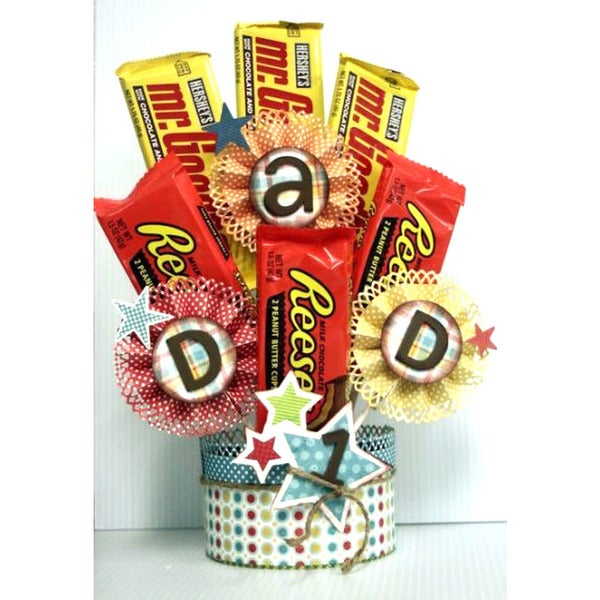 Over 100 Fathers Day Gift Ideas: Shop Happy Fathers Day Candy Bouquet