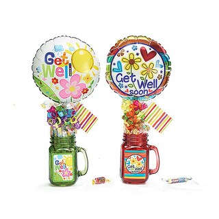 Get Well Soon Mason Mug Set