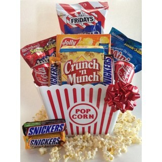 Snack Attack Popcorn Gift Basket