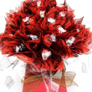 Red Rose Lindor Lindt Bouquet