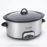 Crock Pot 6 quart Smart Pot Oval Slow Cooker