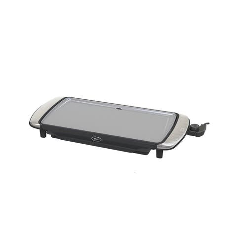 Oster DuraCeramic Electric Griddle with Warming Tray
