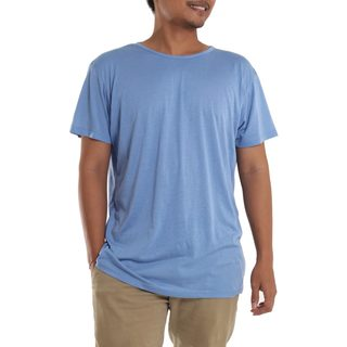 Men's Cotton 'Blue Kuta Breeze' Founder's T-shirt (Indonesia)