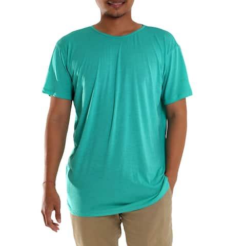 Handmade Men's Cotton 'Green Kuta Breeze' Founder's T-shirt (Indonesia)