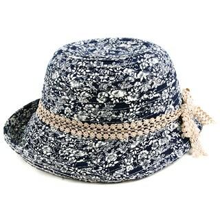 Pop Fashionwear Women's Summer Vintage Floral Bucket Hat