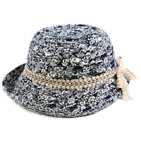 Pop Fashionwear Women's Summer Vintage Floral  Bucket Hat