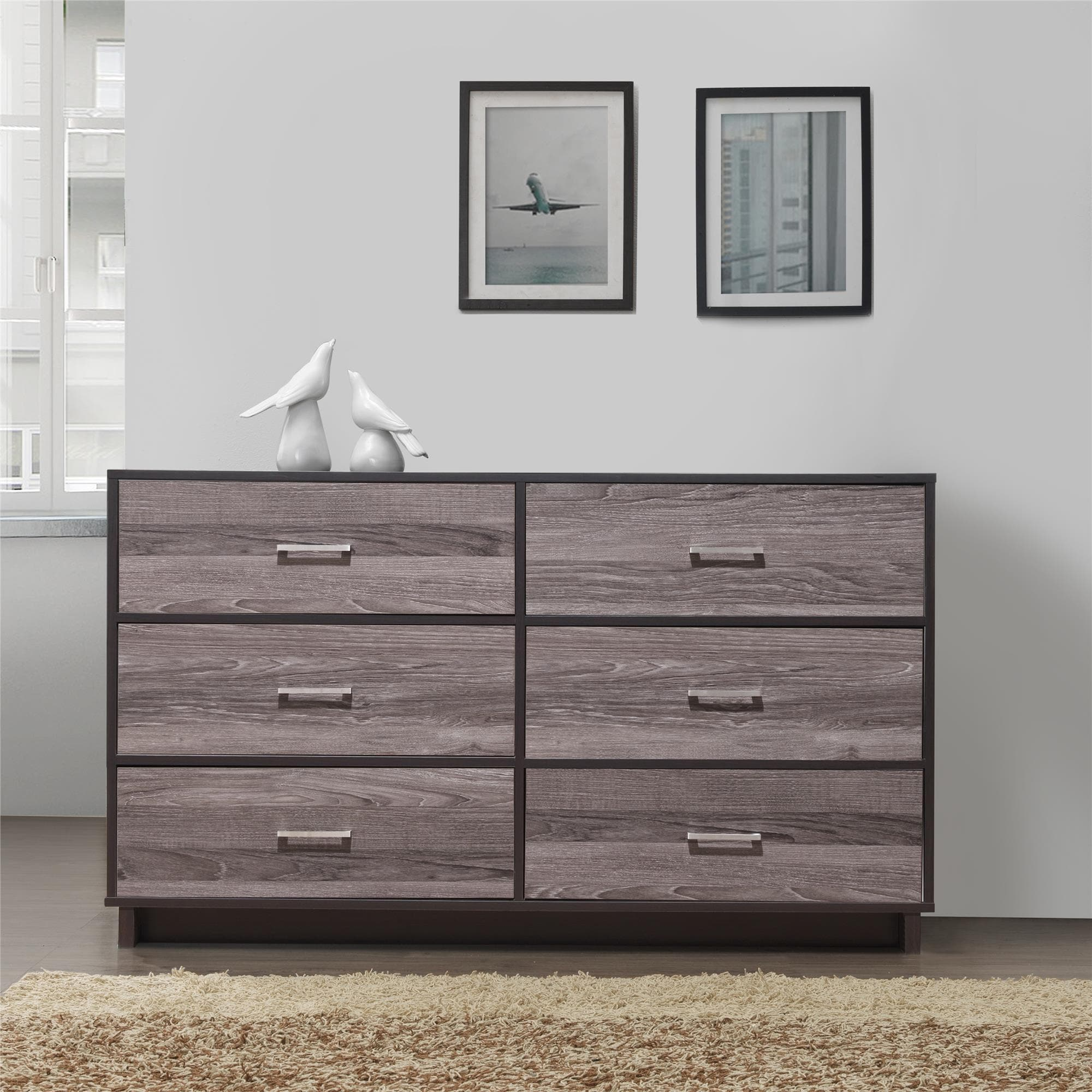 Clay Alder Home Hangzhou Modern 6-drawer Dresser