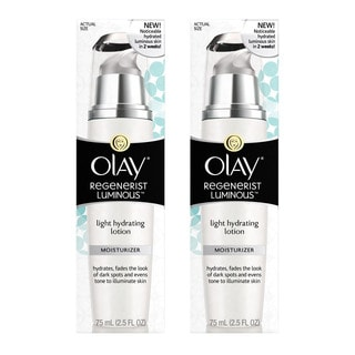 Olay Regenerist Luminous Light 2.5-ounce Hydrating Face Lotion (Pack of 2)