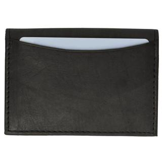 Swiss Marshal Premium Leather Business Card Holder