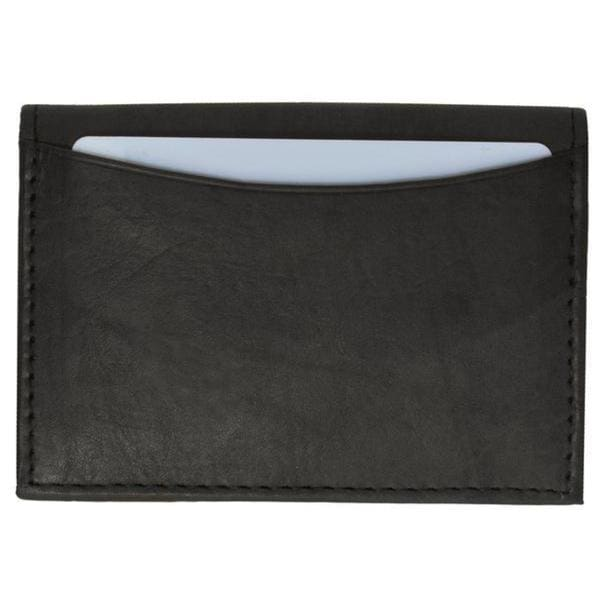 Swiss Marshal Premium Leather Business Card Holder