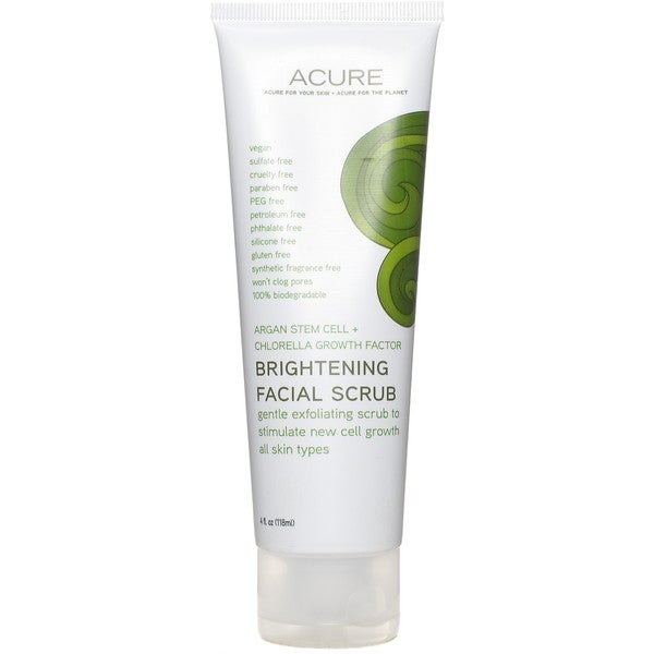 Shop Acure Brightening 4-ounce Facial Scrub