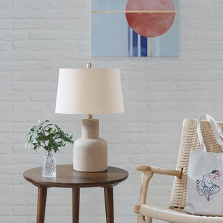 Urban Habitat Sidney Grey Table Lamp