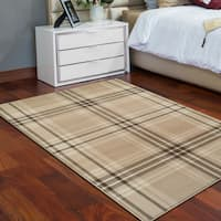 Superior Designer Tartan Area Rug Collection (8' X 10') - 8' x 10'