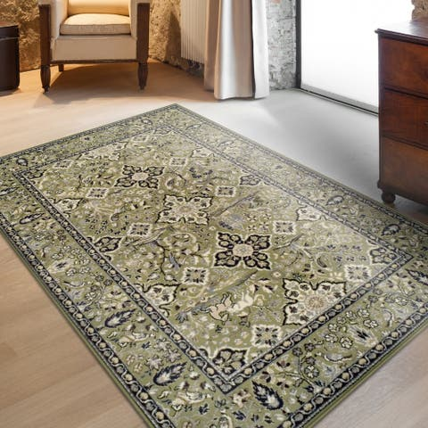 Miranda Haus Radcliffe Classic Floral Medallion Area Rug Collection