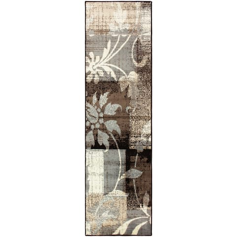 "Miranda Haus Designer Pastiche Area Rug Collection (2'7 x 8') - 2'6"" x 8'"