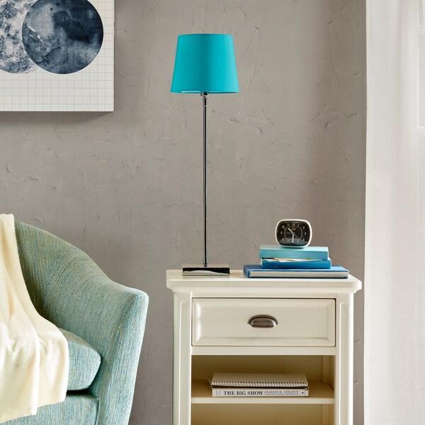 Urban Habitat Taylor Blue Table Lamp
